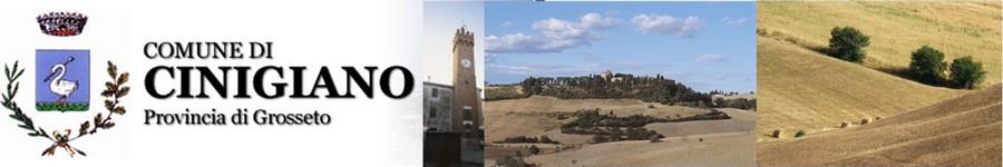 Banner del sito del Comune di Cinigiano