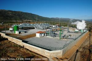Immagine della centrale geotermica turca Dora 1