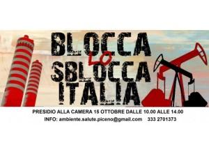 """Immagine del manifesto della campagna """"blocca lo sblocca italia"""""""