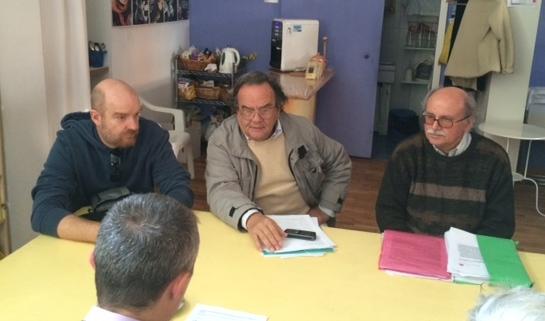 Immagine della conferenza stampa dei comitati contro la geotermia a Grosseto il 20 novembre