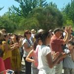 Immagine della manifestazione del 28 giugno contro la geotermia