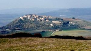 Immagine del paese di Montenero d'Orcia