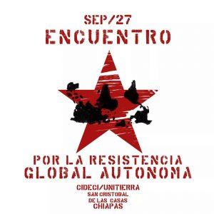 Il manifesto dell'Encuerto por la resistencia global autonoma