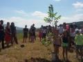 Giù le mani dalla nostra terra 2016, nel campo di Alberto